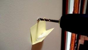 دریل کردن دیوار-ابتکار در خانه