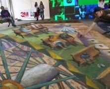 نقاشیهای سهبعدی جاذبه جدید گردشگری کشور شیلی