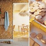 دیوارهای تزیینی با چوب