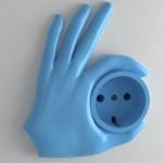 پریز برق دست