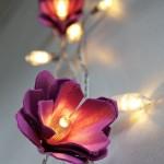 چراغ طرح گل