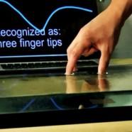 ابداع یک فناوری لمسی جدید