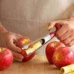 جداکننده وسط سیب