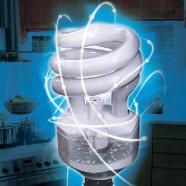 لامپهای کم مصرفی که شکسته می شوند را چه می کنید؟