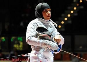 ابتهاج محمد شمشیرباز زن مسلمان آمریکایی ـ آفریقایی
