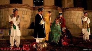 """صحنهای از اجرای """"تلاش بیثمر عشق"""" در افغانستان"""