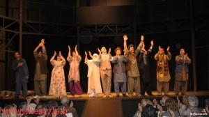 """استقبال گرم تماشاچیان از """"راه سبز"""" در تئاتر شهر نویس آلمان"""