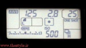 نورسنج دیجیتالی بر روی یک دوربین
