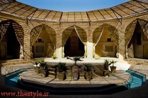 تنها کاروانسرای دایره ای در ایران
