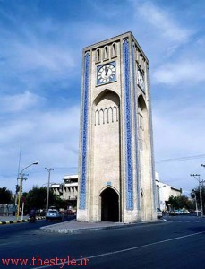قدیمی ترین میدان ساعت شهری در ایران